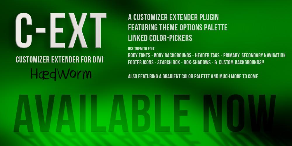 C-Ext – Customizer Plugin for Divi