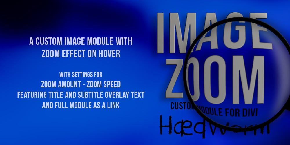 Image Zoom Custom Module