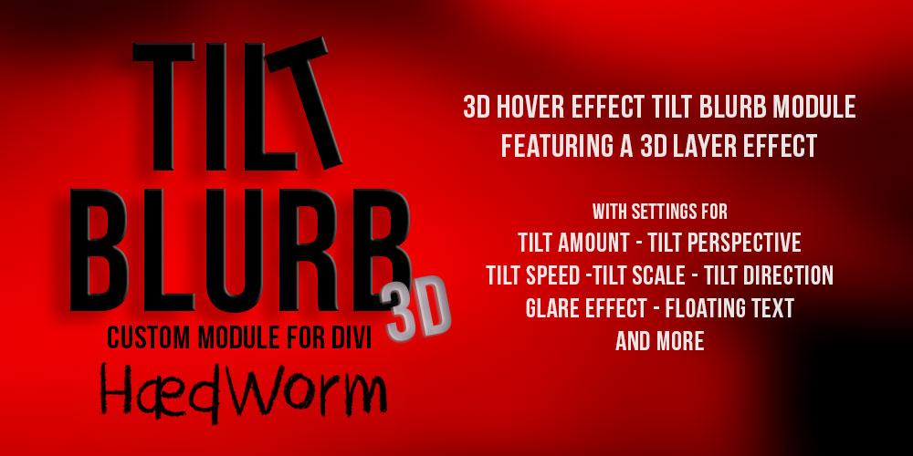 Tilt Blurb Module for Divi