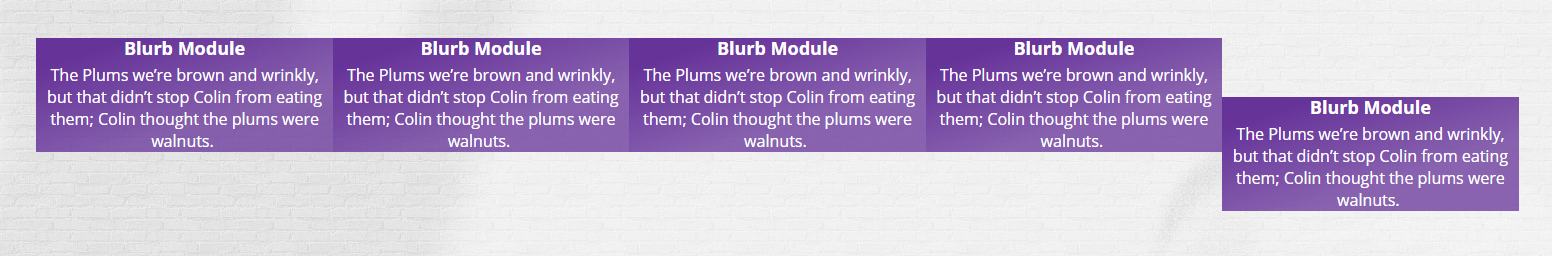 Blurb Module Settings - Custom Class
